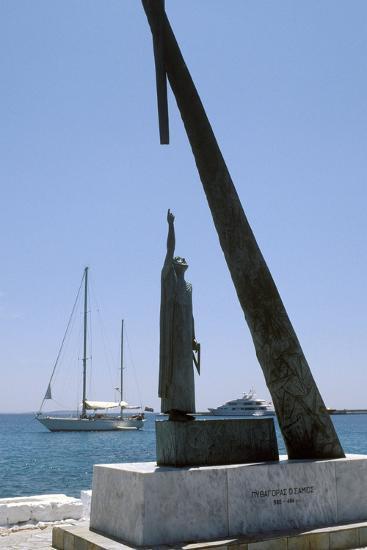 Monument To Pythagoras of Samos-Detlev Van Ravenswaay-Photographic Print