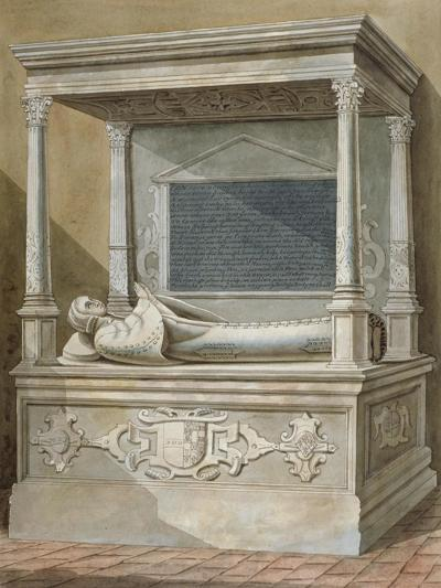 Monument to Sibel Penn on the North Side of the Chancel at St Mary, Hampton, Middlesex, C1810--Giclee Print