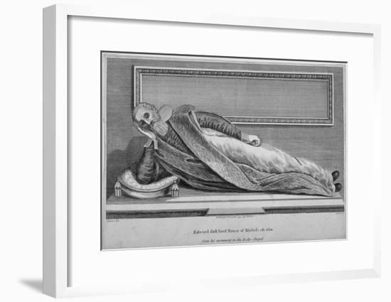 Monument to Sir Edward Bruce in Rolls Chapel, Chancery Lane, City of London, 1794--Framed Giclee Print