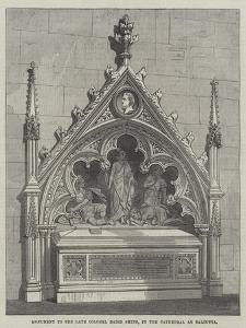 Monument to the Late Colonel Baird Smith, in the Cathedral at Calcutta