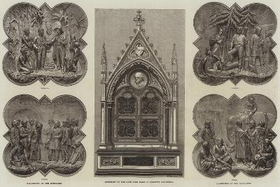 Monument to the Late Lord Elgin in Calcutta Cathedral--Giclee Print