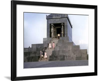 Monument to the Unknown Hero, Mt. Avala, Belgrade--Framed Photographic Print