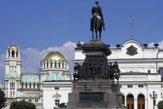 Monument to Tsar Liberator and Equestrian Statue of Alexander II-Arnolfo di Cambio-Giclee Print