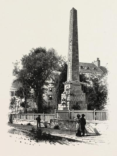 Monument to Wolfe and Montcalm., Canada, Nineteenth Century--Giclee Print