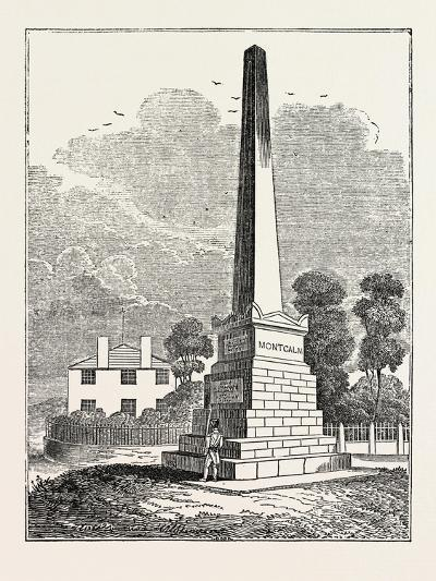 Monument to Wolfe and Montcalm, Quebec, Canada--Giclee Print