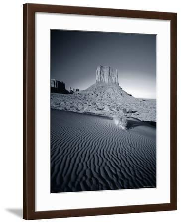 Monument Valley and Sand Dunes, Arizona, USA-Steve Vidler-Framed Photographic Print