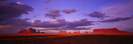 Monument Valley, Arizona, USA--Photographic Print