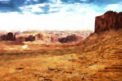 Monument Valley Arizona-Philippe Hugonnard-Giclee Print
