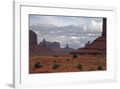 Monument Valley III-J.D. Mcfarlan-Framed Photographic Print