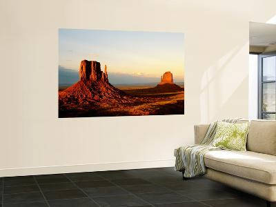 Monument Valley in Late Afternoon-Douglas Steakley-Wall Mural