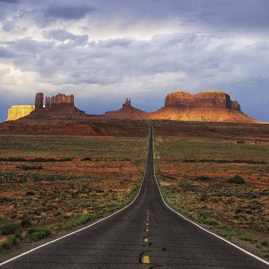 Monument Valley IV-Ike Leahy-Photographic Print