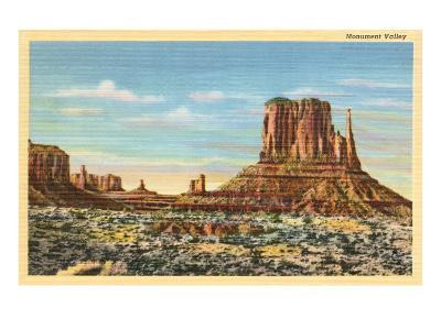 Monument Valley Mitten Butte--Art Print