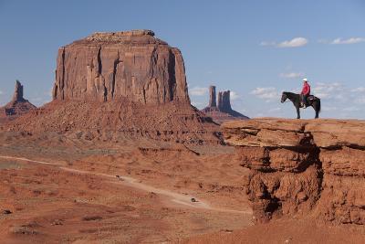 Monument Valley Navajo Tribal Park, Utah, United States of America, North America-Richard Maschmeyer-Photographic Print