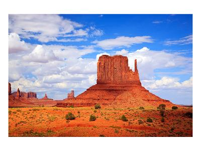 Monument Valley West Thumb--Art Print