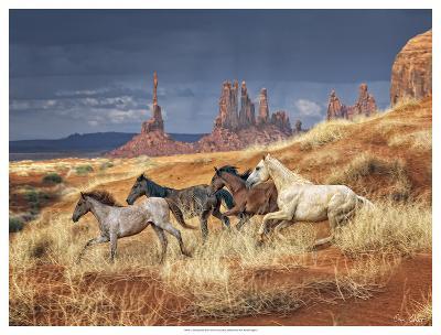 Monumental Run-David Drost-Giclee Print