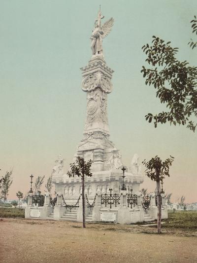 Monumento a Los Bomberos, Havana-William Henry Jackson-Photo