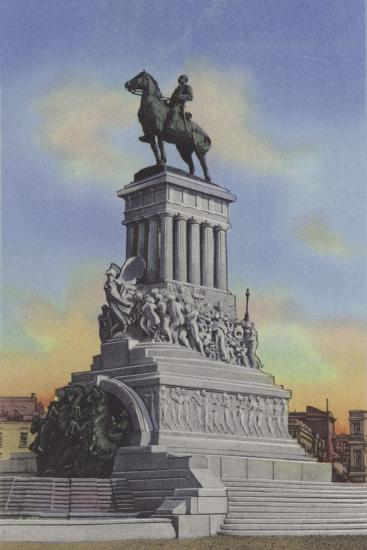 Monumento a Maximo Gomez, Maximo Gomez Monument--Photographic Print
