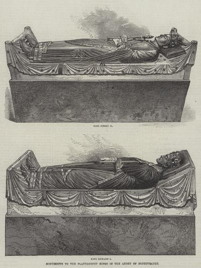 Monuments to the Plantagenet Kings in the Abbey of Fontevrault--Giclee Print