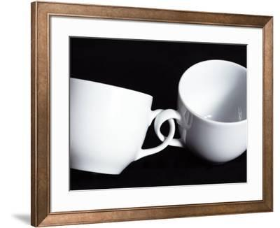 Two Cups with Intertwined Handles by Monzino
