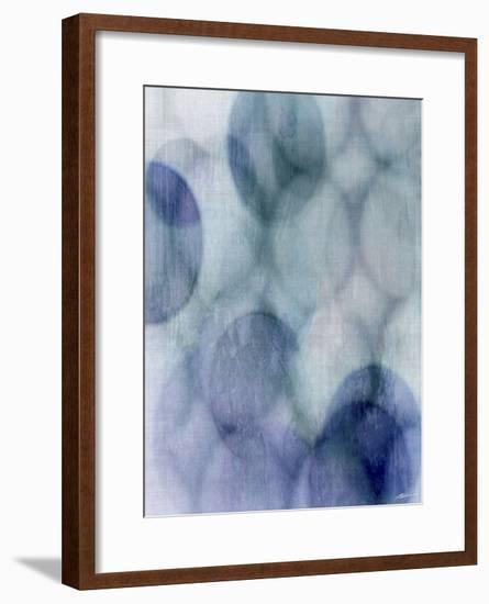 Moody Blue I-John Butler-Framed Art Print