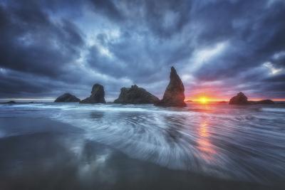 Moody Blues of Oregon-Darren White Photography-Photographic Print
