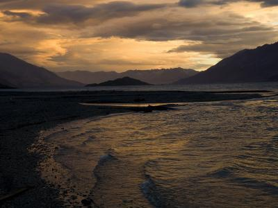 Moody Clouds over New Zealand's South Island-Bill Hatcher-Photographic Print
