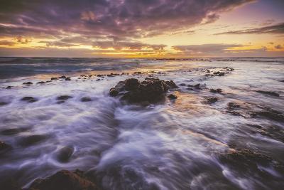 Moody East Kauai Sunrise, Hawaii-Vincent James-Photographic Print