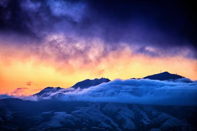 Moody Light Storm, Mount Diablo, Easy Bay, Oakland California-Vincent James-Photographic Print
