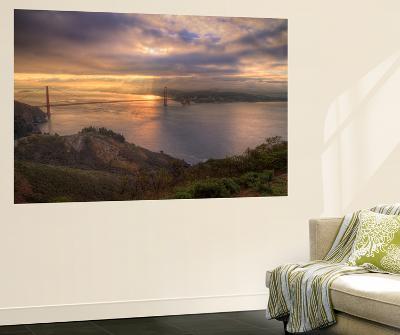 Moody Morning at Golden Gate Bridge, San Francisco-Vincent James-Wall Mural