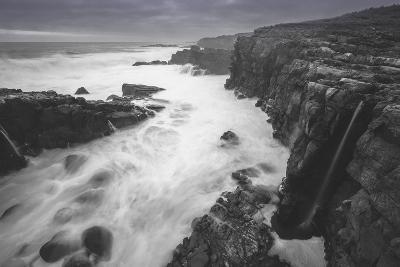 Moody Sonoma Seascape, California Coast-Vincent James-Photographic Print