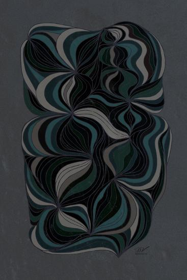 Moody Swirl-Dominique Vari-Art Print