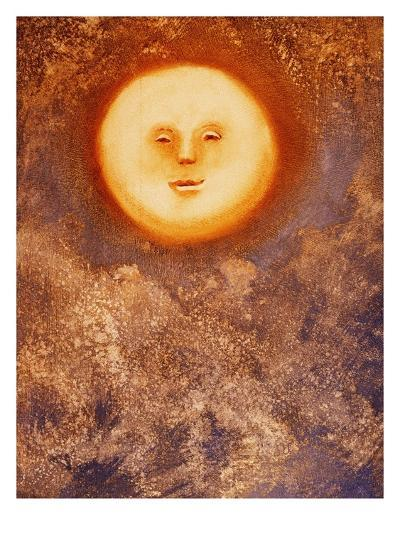 Moon and Clouds-Lou Wall-Giclee Print