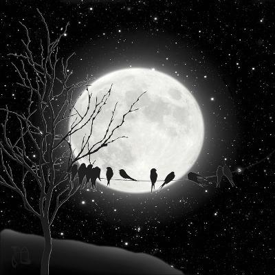 Moon Bath I-Tina Lavoie-Giclee Print