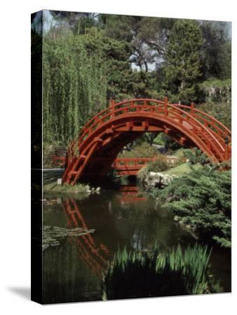 Moon Bridge Japanese Garden Huntington Botanical Gardens San Marino, California, USA