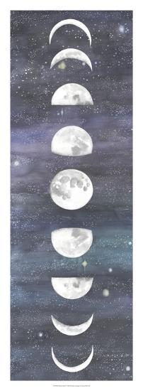 Moon Chart I-Naomi McCavitt-Art Print