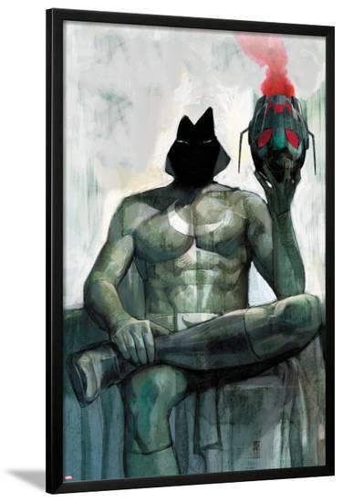 Moon Knight No.2 Cover: Moon Knight Sitting-Alex Maleev-Lamina Framed Poster