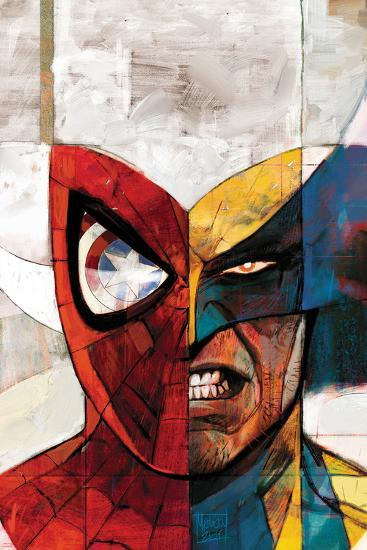 Moon Knight No.5 Cover: Spider-Man and Wolverine-Alex Maleev-Art Print