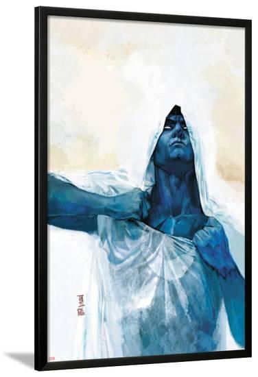 Moon Knight No.9 Cover-Alex Maleev-Lamina Framed Poster