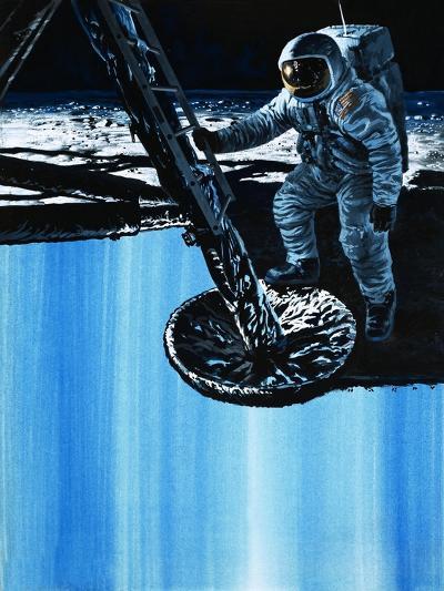 Moon Landing-Wilf Hardy-Giclee Print