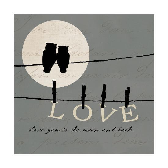 Moon Lovers I-Pela Design-Art Print