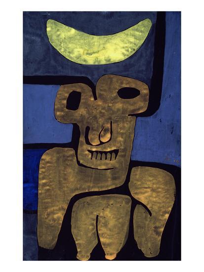Moon of the Barbarians; Luna Der Barbaren-Paul Klee-Premium Giclee Print