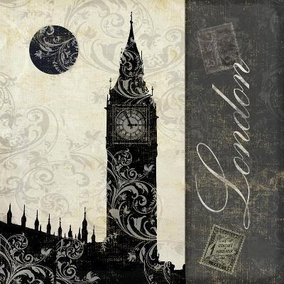 Moon over London-Color Bakery-Giclee Print