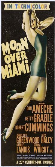 Moon Over Miami--Art Print