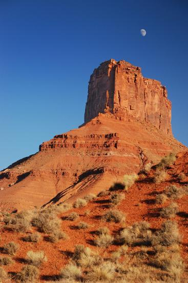Moon over Moab-moosebitedesign-Photographic Print