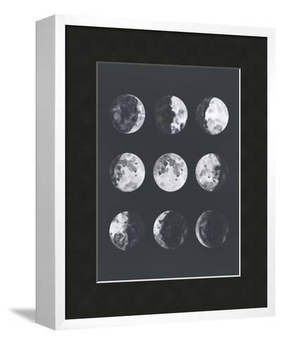 Moon Phases Watercolor Ii-Samantha Ranlet-Framed Art Print