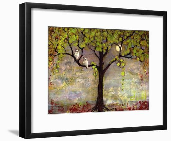 Moon River Tree-Blenda Tyvoll-Framed Giclee Print