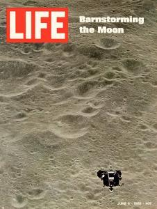 Moon's Surface, Barnstorming the Moon, June 6, 1969