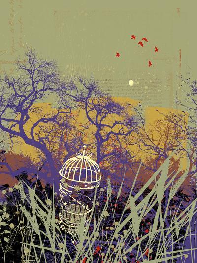 Moon Song II-Ken Hurd-Giclee Print