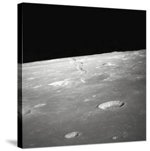 Moon Surface and Horizon