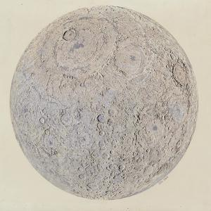 Moon surface with Craters